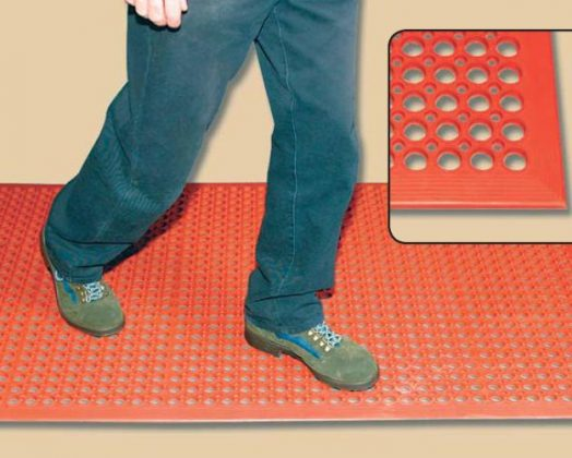 Industrial Mat Red 826