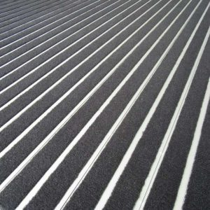 Duratred® Enviro is constructed using the standard aluminium retainers and a truly environmentally friendly carpet insert.